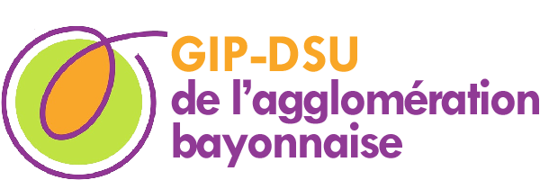 logo GIP et DSC de l'agglomerati bayonnaise