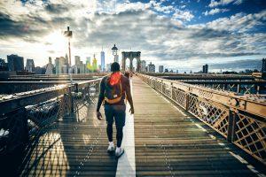 Un voyage à Brooklyn avec le cours d'anglais de jakinola à bayonne