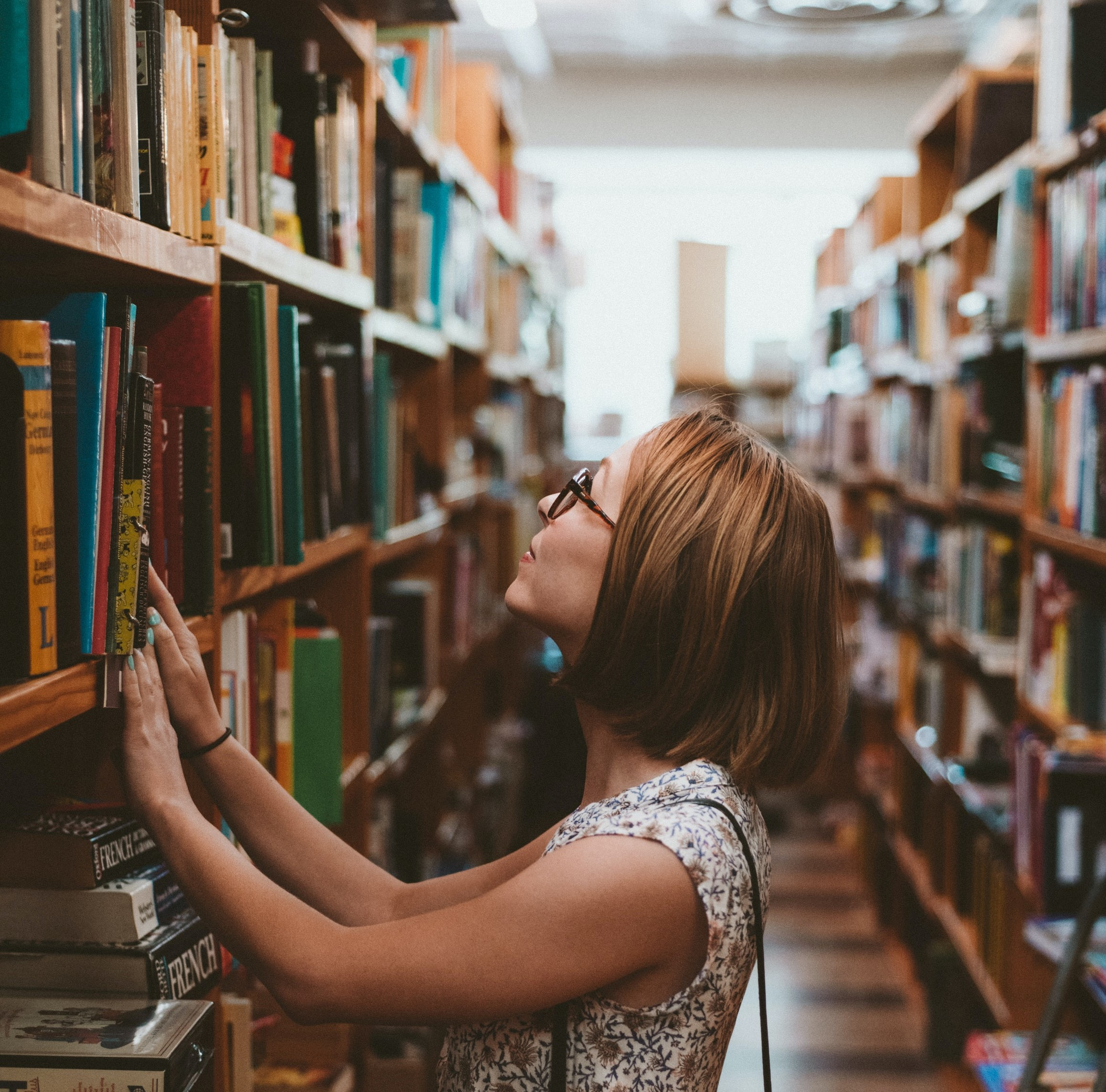 bibliothèque de langue