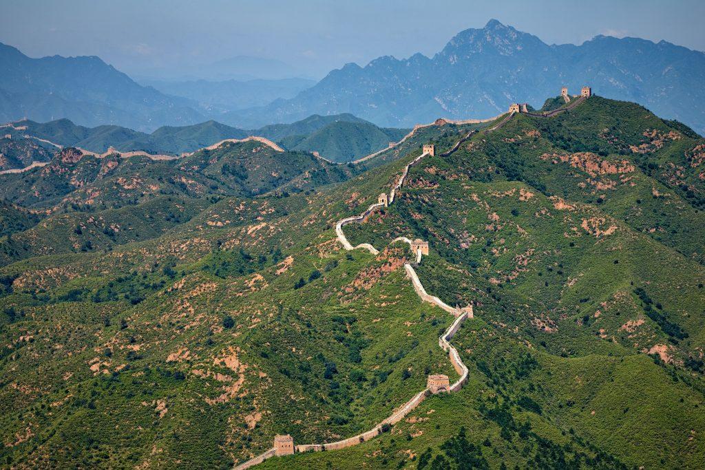 La muraille de chine en parlant le chinois grâce à jakinola à bayonne