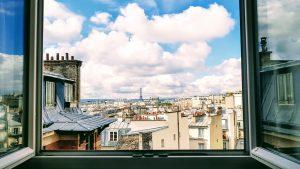 Une vue de Paris pour apprendre le français lorsqu'on est étranger à Bayonne