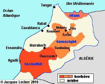 Politiques linguistiques dans le monde : Le Maroc
