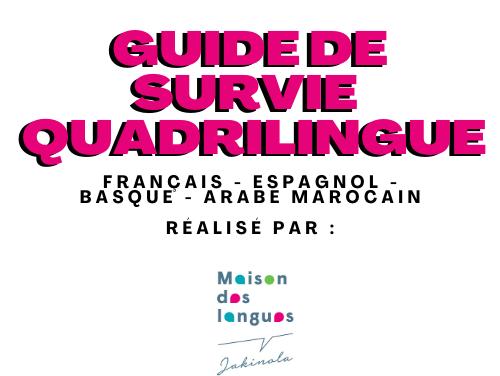 Lexique Quadrilingue – francais, espagnol, basque, arabe marocain